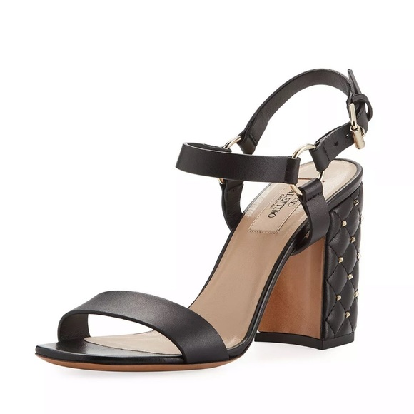 084bb9dcfb8d Valentino Rockstud Spike City Sandals EU 41